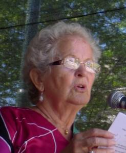 Artisten og sangeren Birgitte Grimstad har vært aktiv i folkelige bevegelser.