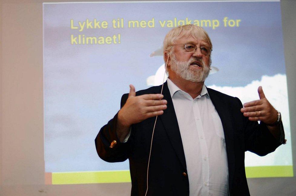 Svein Tveitdal fra Besteforeldreaksjonenvar leder for Klimavalg 2013