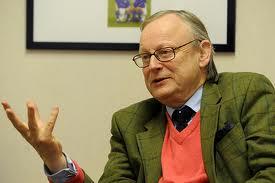 """John Gummer leder Storbritannias """"Committee on Climate Change"""" som gir råd om karbonbudsjetter for å begrense utslippene. Miljøvernminister 1993-1997, ble av Thorbjørn Berntsen kalt """"den største drittsekken jeg har møtt""""."""