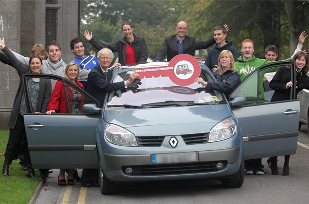 NUI Galway Car Share launchedPhotograph by Aengus McMahon