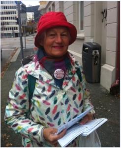 Bjørghild des Bouvrie er organisasjonssekretær BKA