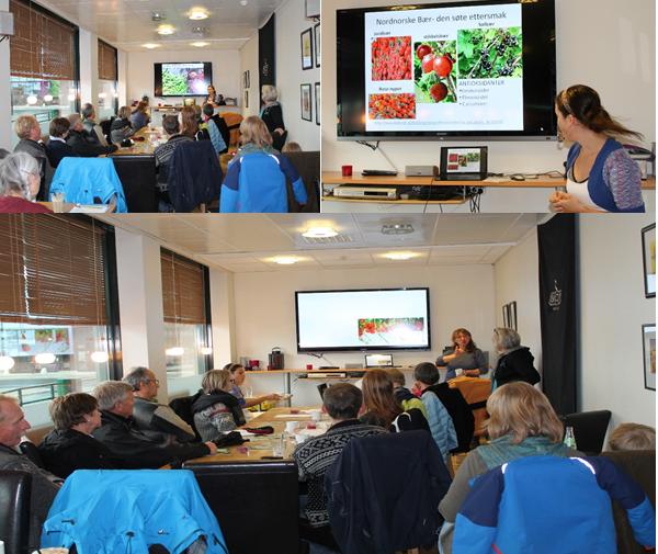 «Dialogkaféen» om mat- og matproduksjon strakte seg over et par timer og rundt 25 personer tok turen innom.