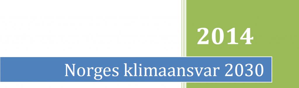 SV klimarapport