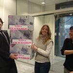I løpet av noen dager i januar samlet WWF inn 13 000 underskrifter til støtte for en norsk klimalov. Foto Ragnhild Waagaard.