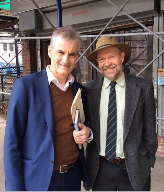 Jonas Gahr Støre tok selv initiativ til å møte professor James Hansen i New York.