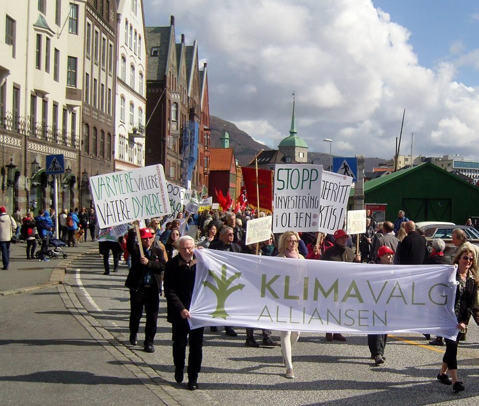Fra Bergen: god oppslutning om Klimavalgalliansens seksjon