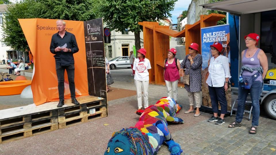 Lars Haltbrekken med appell om Grunnlovens miljøparagraf