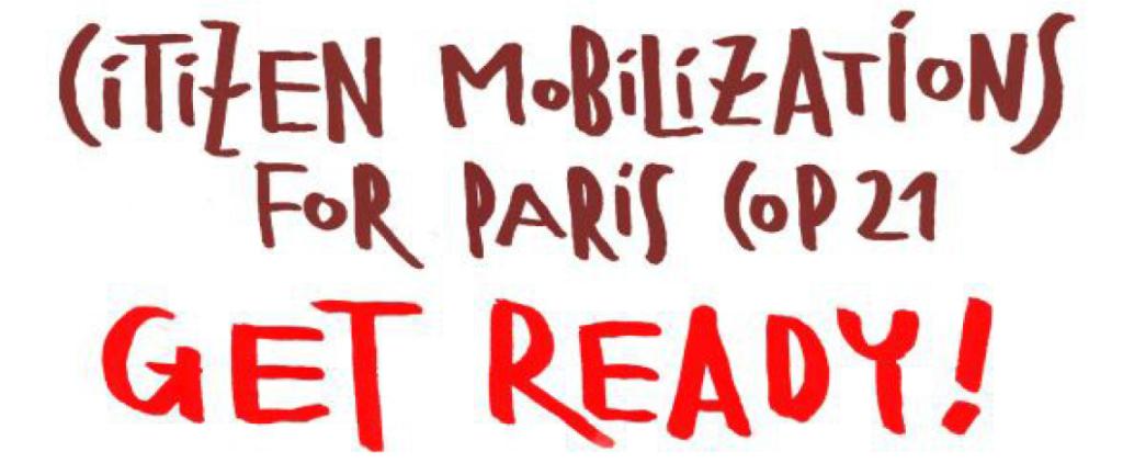 GLOBAL MOBILISERING. Folket skal sette sitt preg på Paris under klimaforhandlingene i november/desember