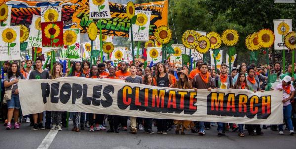 folkets klimamarsj