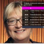 P1+ 08.10 - 08.30: Hvorfor startet du denne Besteforeldreaksjonen, spurte programleder Kari Sørbø. – Fordi noen måtte gjøre det, svarte Wiik. Opplyste voksne menensker kan jo ikke passivt se på at barn og barnebarn går en så usikker framtid i møte.