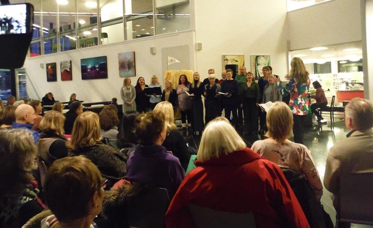 Operakoret: Ode til gleden. Foto: Aase Ådland.