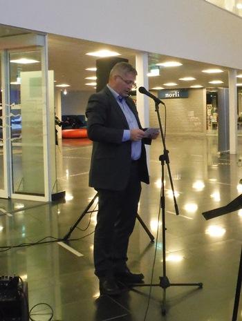 Ordfører Tore Opdal Hansen