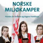 """Tre av lokalbefolkningen som demonstrerte mot """"monstermastene"""" i Hardanger pryder forsiden til Bredo Berntsen og Sigmund Hågvars nye bok. Foto: Bergens Tidende."""