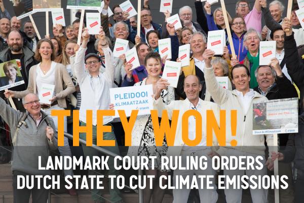 MILJØSEIER NEDERLAND: Miljøstiftelsen Urgenda vant i fjor fram i sitt klimasøksmål mot staten. Går vi mot en tilsvarende sak i Norge?