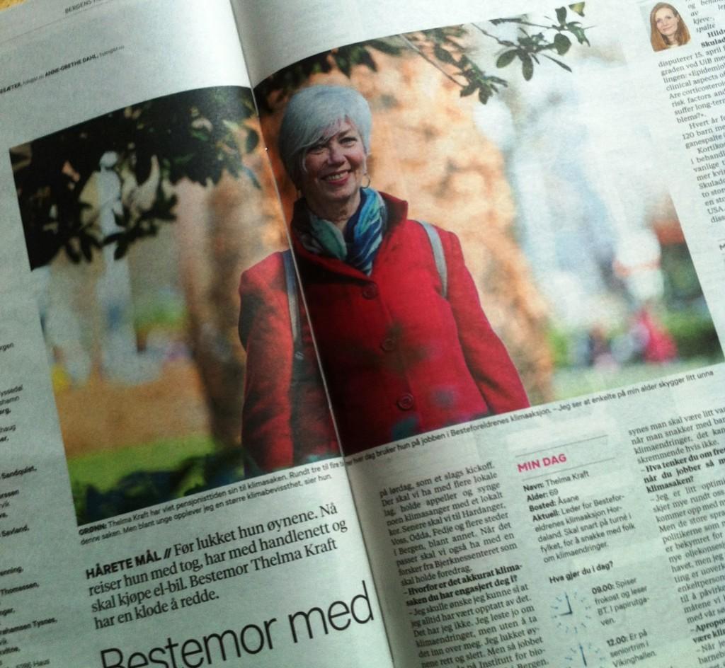Fra Bergens Tidende torsdag 14. april