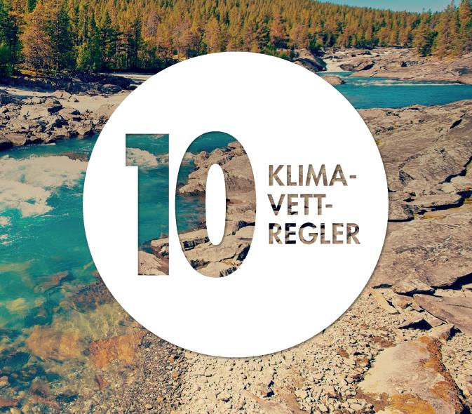 10 klimavettregler