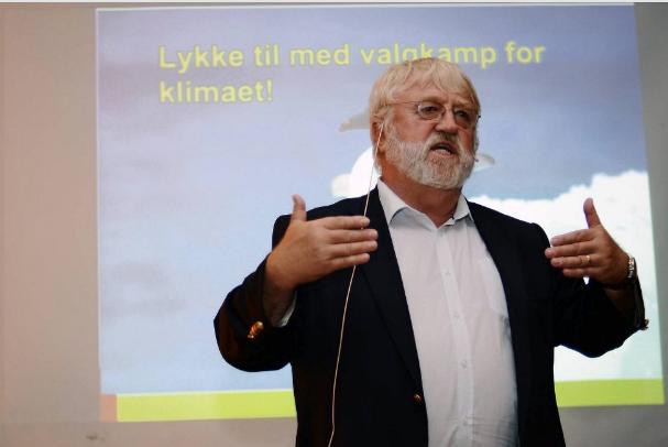 Svein Tveitdal ledet kampanjen Klimavalg 2013. Nå ønsker han en ny sterk kampanje foran 2017-valget.
