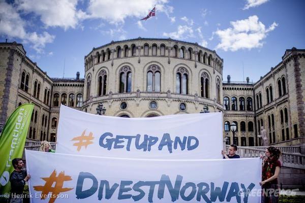 Norwegian Coal Divestment