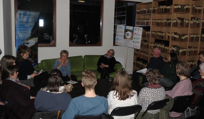 Marit Arnstad sofa publikum foto Hans