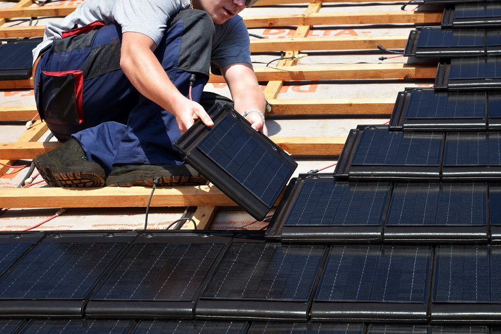 solceller takstein