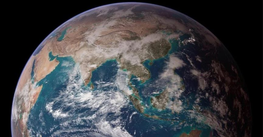 halve jordkloden