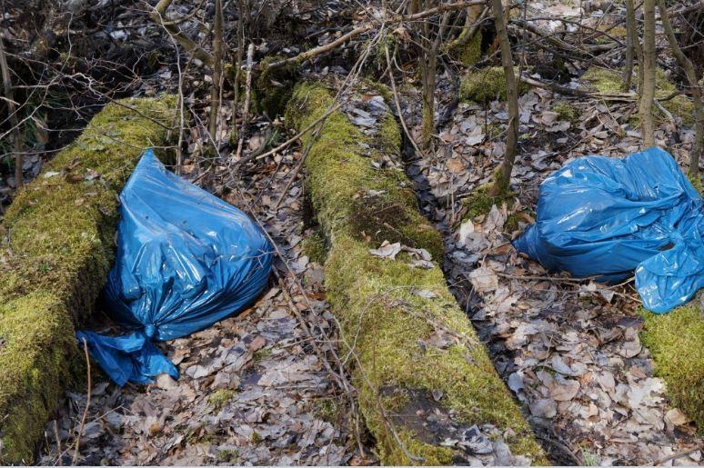 plastsøppel i naturen