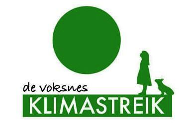 voksnes klimastreik logo