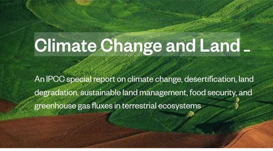 climate change and land