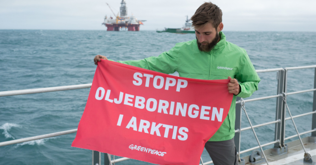 greenpeace stopp olje