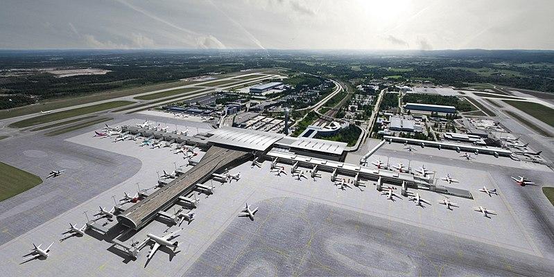Oslo lufthavn Gardermoen 2