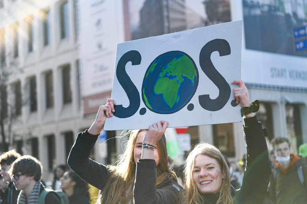 Youth Climate Strike the Hague, the Netherlands