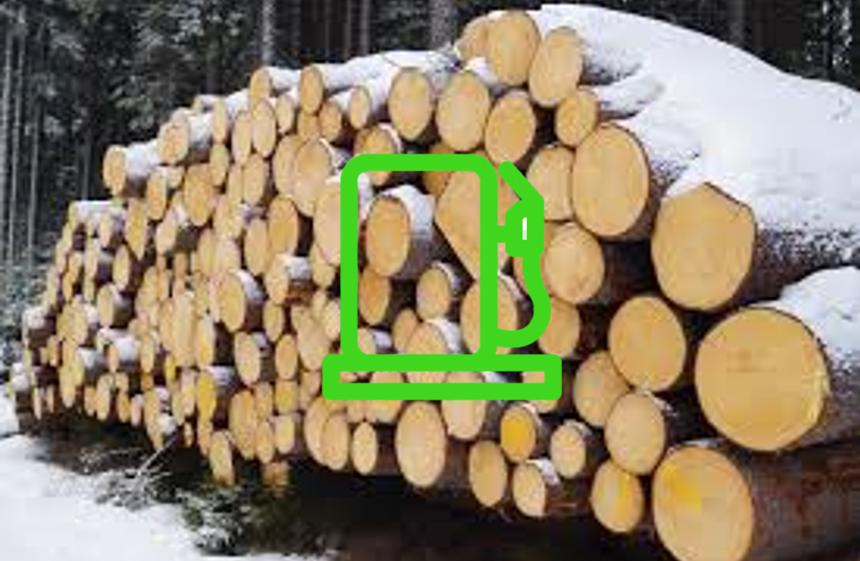 tømmer tilbiodiesel