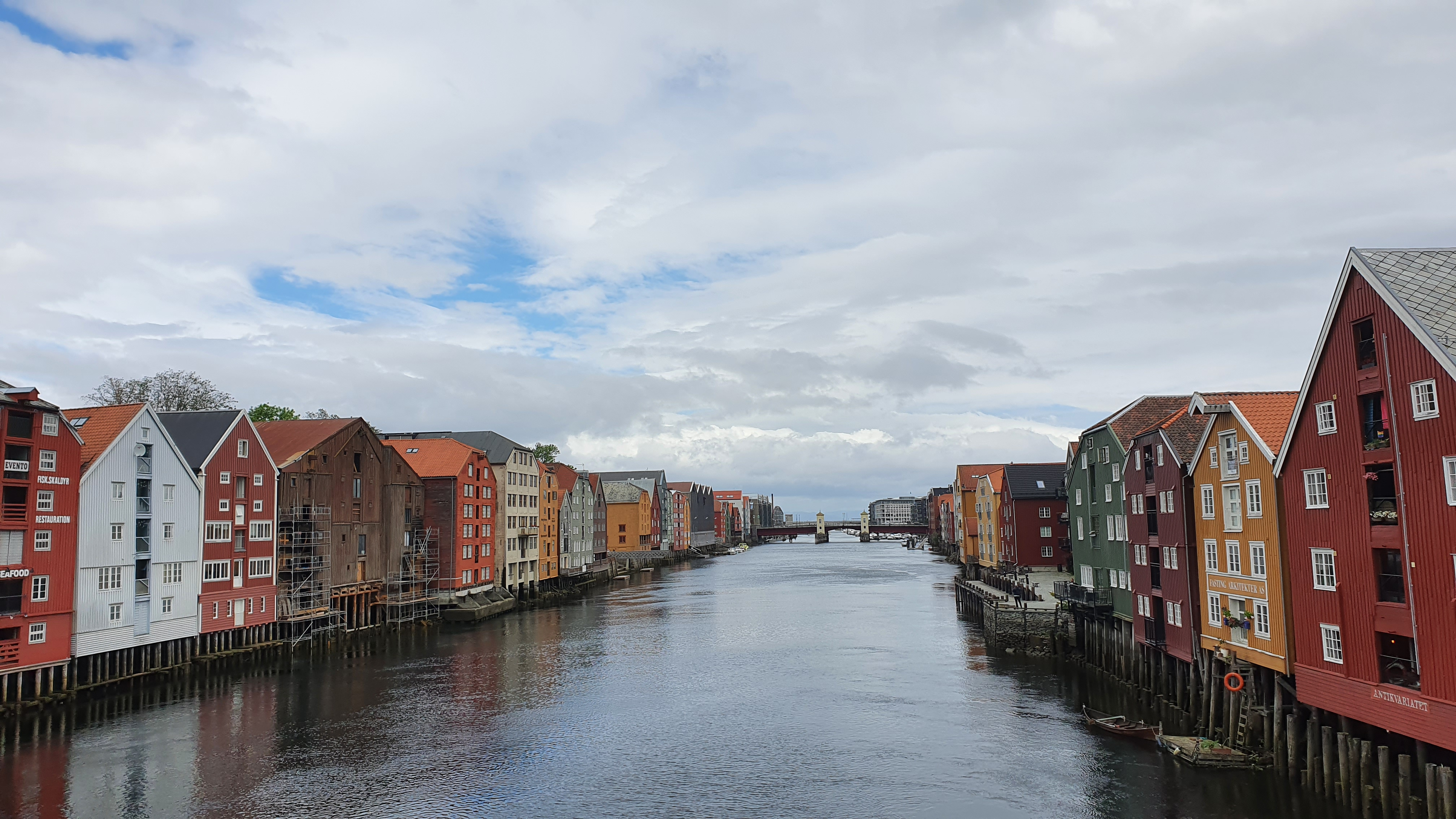 Trondheim Nidelva brygger