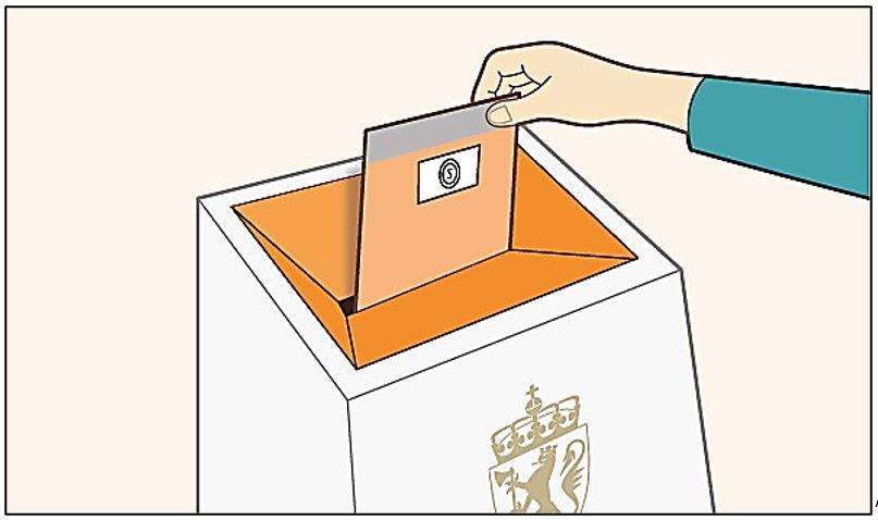 stemmeseddel 5